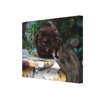 Peace! Let Us Be Friends Gallery Wrapped Canvas