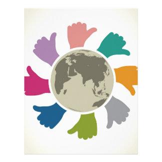 Peace Letterhead