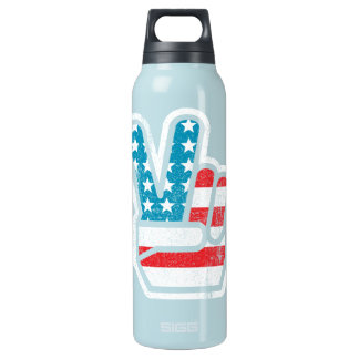 Peace Liberty Bottle 16 Oz Insulated SIGG Thermos Water Bottle