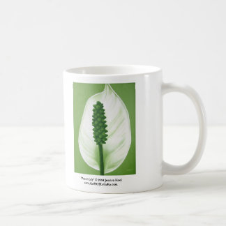 Peace Lily Mug (Right Handed)