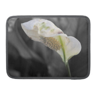 Peace Lily - Selective Color MacBook Pro Sleeve
