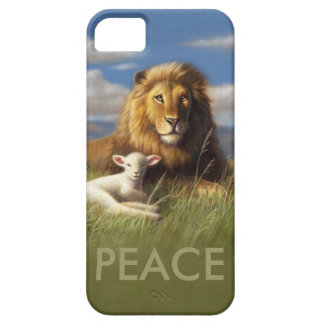 Peace Lion and Lamb iphone case iPhone 5 Cases