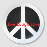 peace, Live Laugh Love Stickers