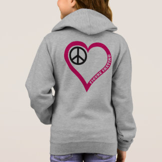 Peace Loce Figure Skating Girls Shirt Hoodie