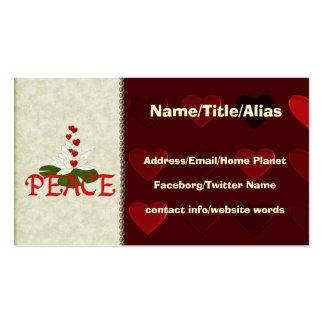 Peace Lotus Business Card