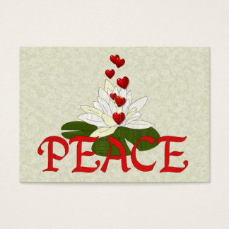 Peace Lotus Business Card