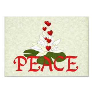 Peace Lotus Card