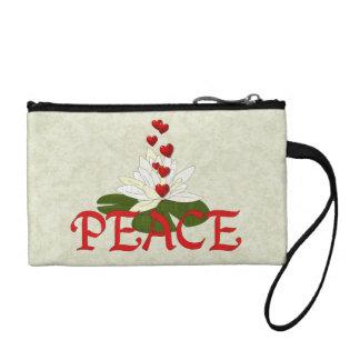 Peace Lotus Coin Purse