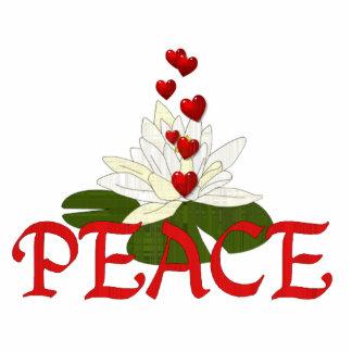 Peace Lotus Acrylic Cut Out