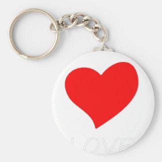 peace love13 keychain