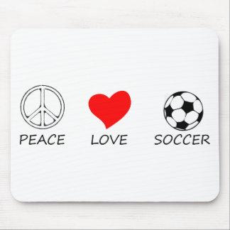 peace love25 mouse pad
