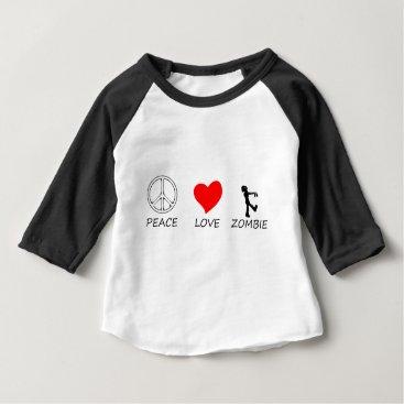 Halloween Themed peace love29 baby T-Shirt