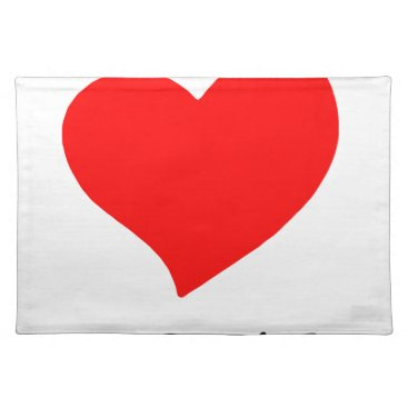 Halloween Themed peace love29 cloth placemat
