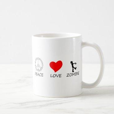 Halloween Themed peace love29 coffee mug