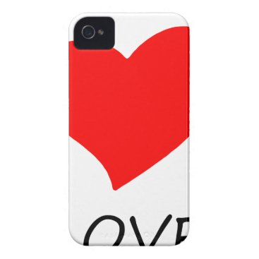 Halloween Themed peace love29 iPhone 4 Case-Mate case