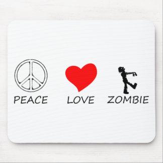 peace love29 mouse pad
