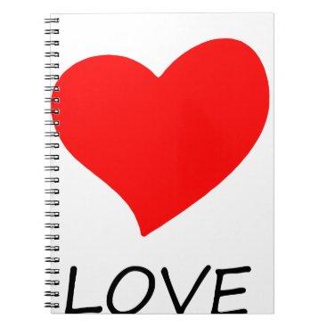 Halloween Themed peace love29 notebook