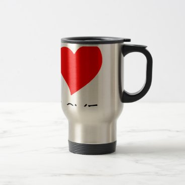 Halloween Themed peace love29 travel mug