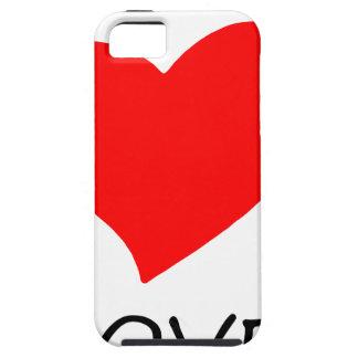peace love3 iPhone SE/5/5s case