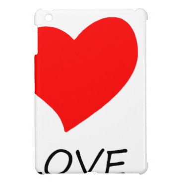Lawyer Themed peace love40 iPad mini cover