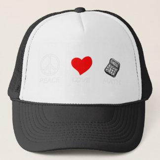 peace love6 trucker hat