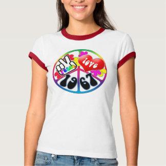 Peace Love 1967 Shirt