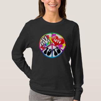 Peace Love 1973 Shirt