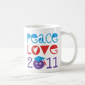 PEACE LOVE 2011 - Class 2011 Coffee Mug