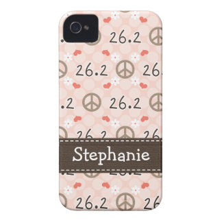 Peace Love 26.2 iPhone 4 4s Case-Mate Cover