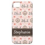 Peace Love 26.2 iPhone 5 Case