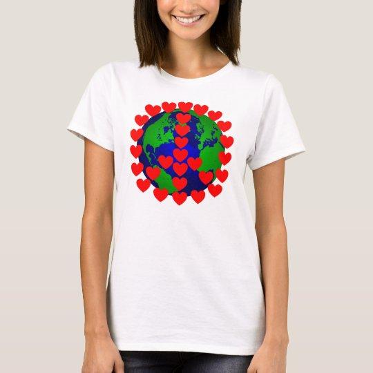 PEACE & LOVE 4 the World T-Shirt