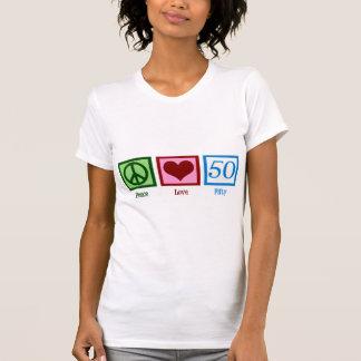 Peace Love 50 Tee Shirt