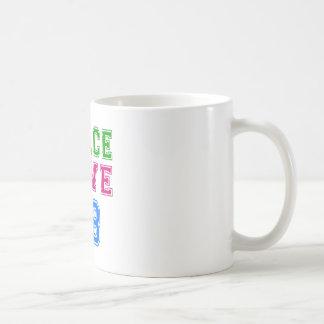 Peace Love 88 Birthday Designs Classic White Coffee Mug