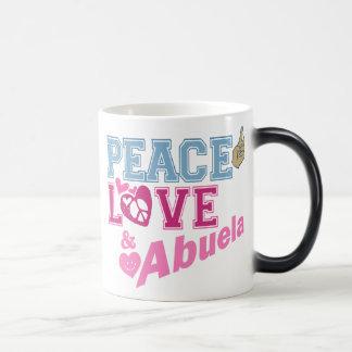 Peace Love Abuela Coffee Mug