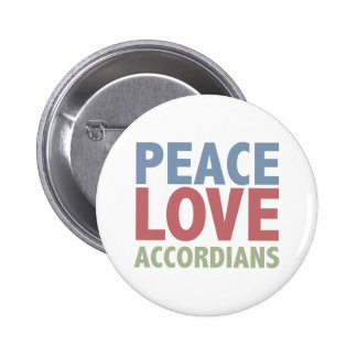 Peace Love Accordians Pin