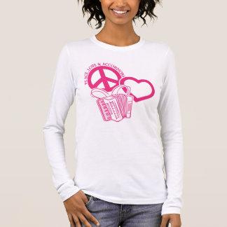 PEACE, LOVE & ACCORDIONS LONG SLEEVE T-Shirt
