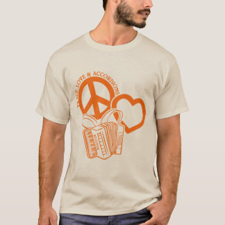 PEACE, LOVE & ACCORDIONS T-Shirt