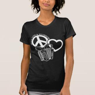 Peace, Love, Accordions T-Shirt