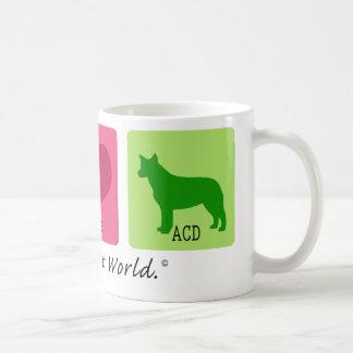 Peace Love ACD Coffee Mug