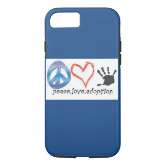 Peace. Love. Adoption. iPhone 8/7 Case