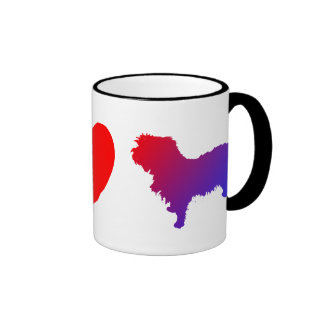 Peace Love Affenpinschers Mug