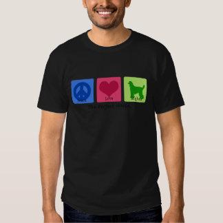 Peace Love Afghan T-shirt
