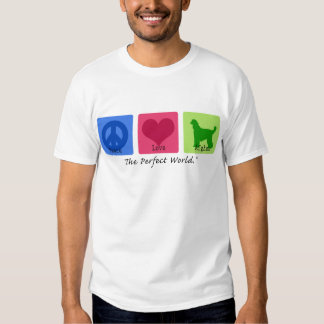 Peace Love Afghan Tee Shirt