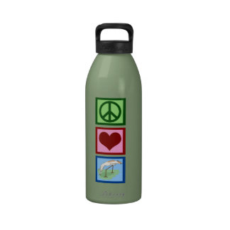 Peace Love Agility Water Bottles