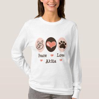 Peace Love Akita Hoodie