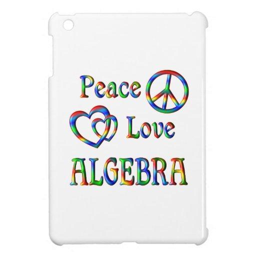 Peace Love Algebra Case For The iPad Mini