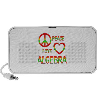 Peace Love Algebra Mini Speaker