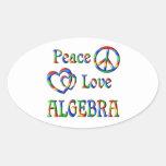 Peace Love Algebra Sticker