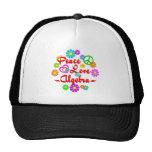 Peace Love Algebra Trucker Hat