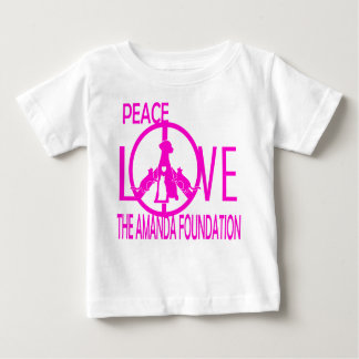 Peace,Love,Amanda Foundation Baby T-Shirt
